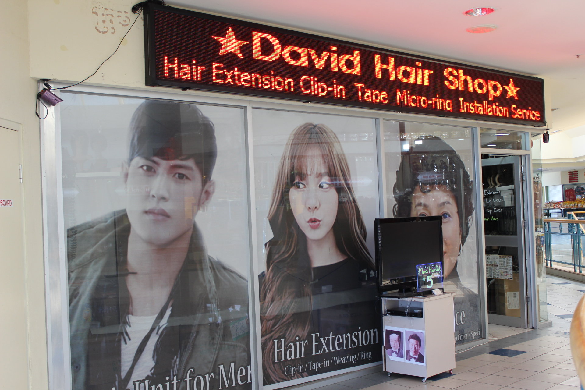 babda2ec6dd Spring Vale Shopping Centre - David's Hair Shop